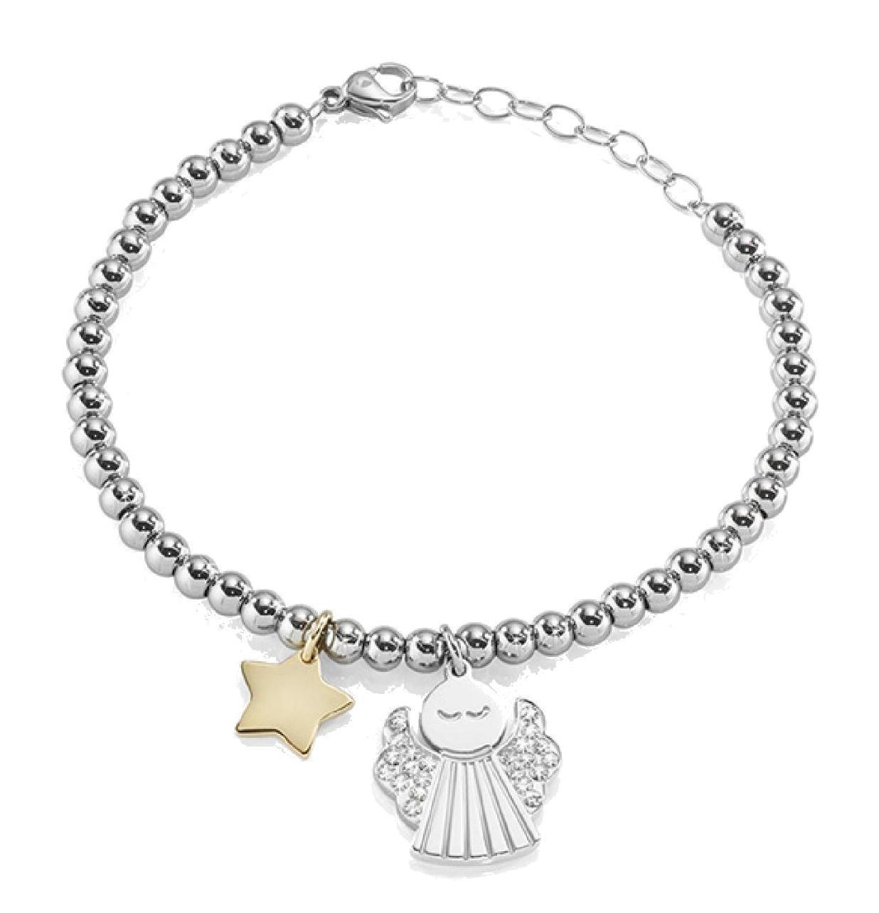 61b89948421b Bracelet Étoile Et Ange Famille   Amis - Achetez À Prix Outlet!