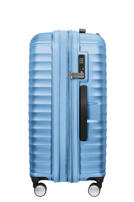 - Valise AMERICAN TOURISTER Ligne JETGLAM, taille moyenne, extensible