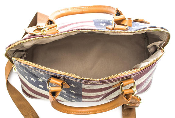 - YNOT? Flag Vintage Medium Sac à main bandoulière