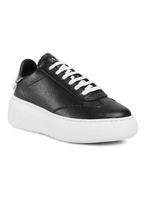 - A|X ARMANI EXCHANGE Baskets montantes en cuir