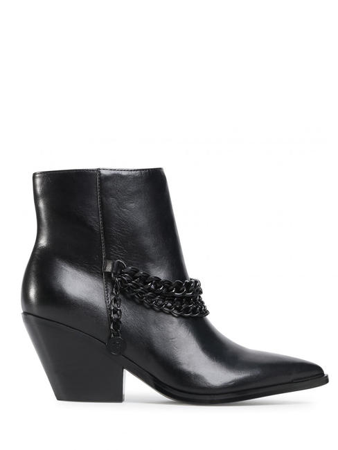 - GUESS Bottines en cuir texan PATZI