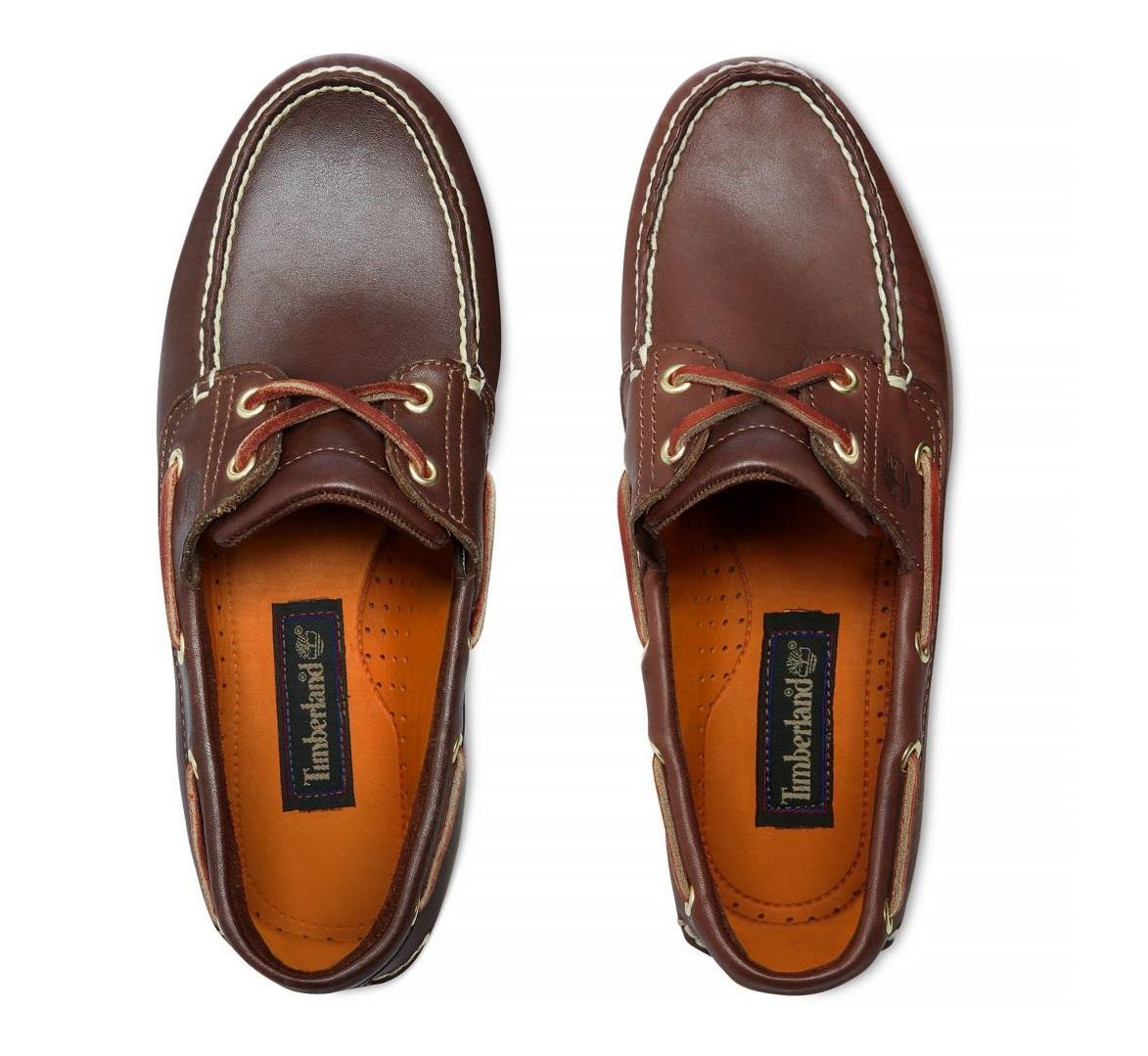 À Prix Timberland De En Achetez Cuir Bateau Classic Chaussures 8Bqz80w